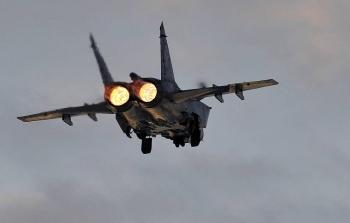 Tiêm kích MiG-31 của Nga đánh chặn máy bay quân sự Na Uy