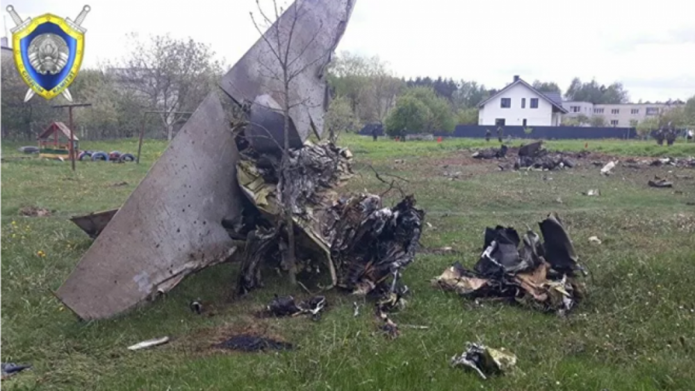 Hai phi công Belarus thiệt mạng sau khi máy bay huấn luyện chiến đấu Yak-130 rơi