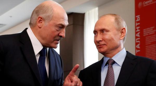 Tổng thống Nga và người đồng cấp Belarus gặp gỡ