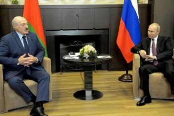 Nga hứa 'bù đắp' cho Belarus sau khi bị phương Tây trừng phạt