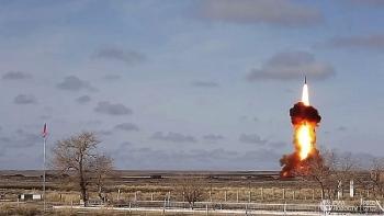 """Nga đã phóng thành công tên lửa siêu thanh """"khủng"""""""
