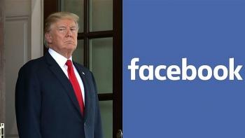 Bị Facebook 'cấm cửa' đến năm 2023, ông Trump phản ứng gay gắt