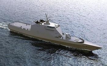 Tiết lộ sớm về tàu hộ vệ tên lửa tàng hình Nga thuộc Dự án 20386 Mercury