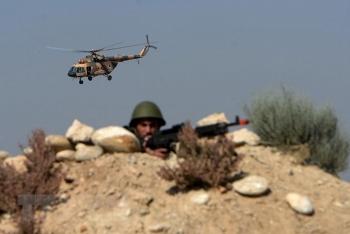 Trực thăng của quân đội Afghanistan gặp nạn, 3 người tử vong