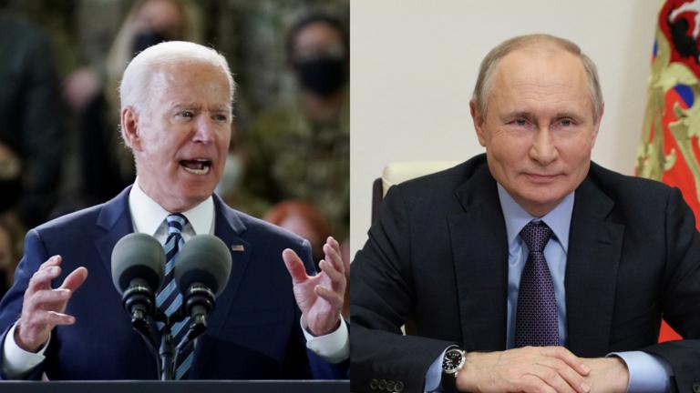 """Ông Biden bất ngờ đưa """"lời cảnh báo"""" mạnh mẽ với người đồng cấp Putin"""