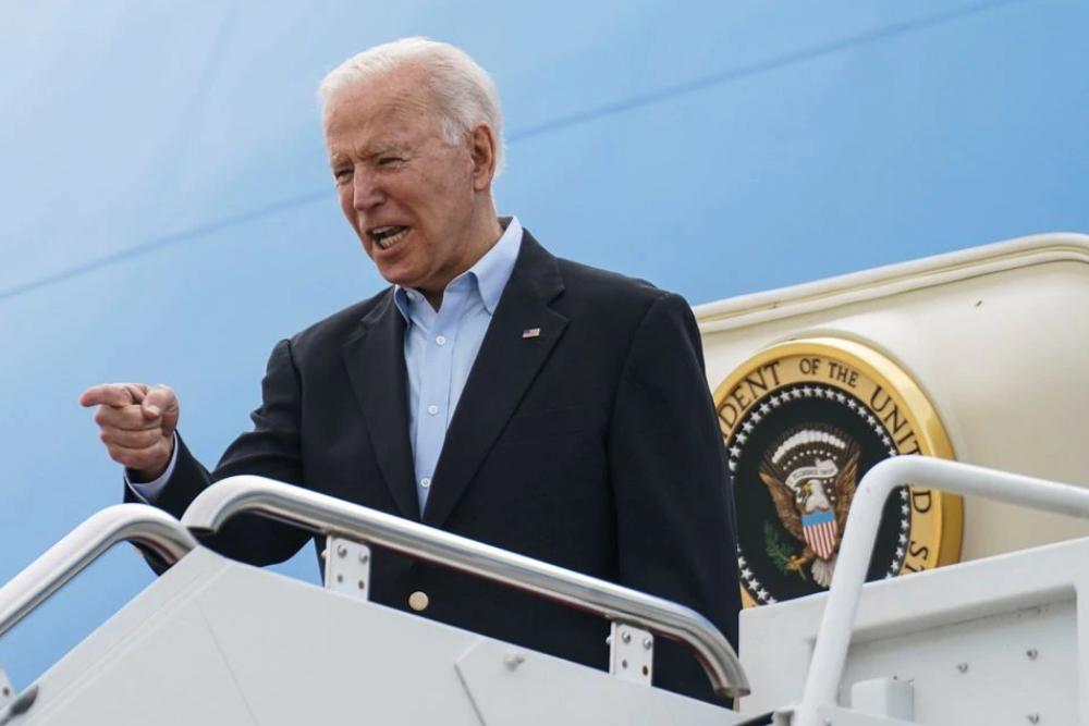 Tổng thống Biden bắt đầu chuyến công du nước ngoài đầu tiên