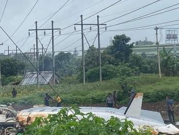 Máy bay quân sự rơi tại Myanmar, 12 người thiệt mạng