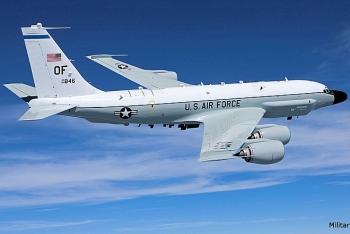 RC-135 của Mỹ bị Su-35 xua đuổi gần vùng Nga tập trận
