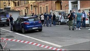 Cảnh sát Rome bất ngờ phát hiện bom tự chế ngay trước thời điểm diễn ra trận Ý - Thụy Sĩ