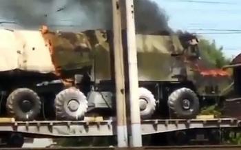 Video: Lửa bao trùm hệ thống tên lửa Rubezh của Nga