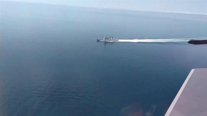 Nga công bố video truy đuổi tàu khu trục Anh trên Biển Đen