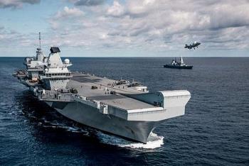 Nga huy động lực lượng 'khủng' tập trận sát tầu hải quân Anh