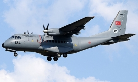 Máy bay Thổ Nhĩ Kỳ rơi xuống núi Artos, 7 nhân viên an ninh thiệt mạng
