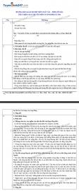 Đáp án đề thi Ngữ văn tuyển sinh lớp 10 vào THPT tỉnh Yên Bái năm 2020