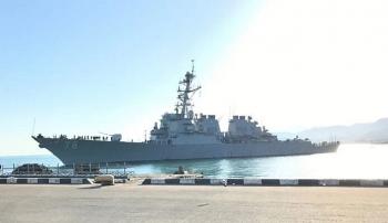 """Tàu khu trục của Hải quân Mỹ tiến vào Biển Đen tham gia tập trận """"Gió biển 2020"""""""