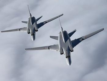 Sau lệnh của NATO, MiG-21 Romani bám sát 2 máy bay ném bom chiến lược Nga ở Biển Đen