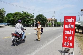 Từ ngày 25/7, người từ Đà Nẵng đến Thừa Thiên - Huế phải khai báo y tế