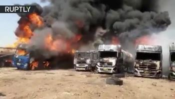Video: 6 xe nhiên liệu của Iran lại bốc cháy ngùn ngụt sau hàng loạt vụ nổ bí ẩn