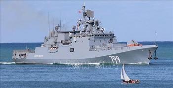 Hơn 20 tàu chiến của Hải quân Nga bắt đầu tập trận quy mô lớn tại Biển Đen