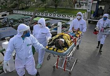 Brazil lập kỷ lục mới khi ghi nhận số ca mắc và tử vong do Covid-19 trong ngày cao nhất thế giới
