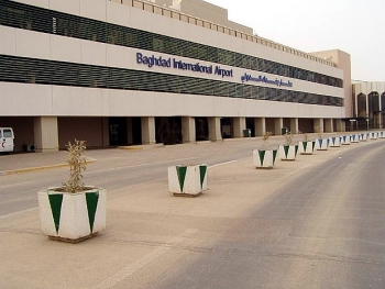 Sân bay quốc tế Baghdad bị tấn công bằng tên lửa, chưa lực lượng nào nhận trách nhiệm
