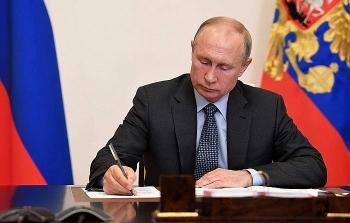 Tổng thống Putin phê duyệt văn kiện Chiến lược An ninh Quốc gia mới của Nga