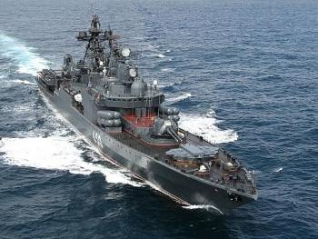 Chiến hạm Đô đốc Chabanenko của Nga trở lại đe dọa tầu ngầm Mỹ