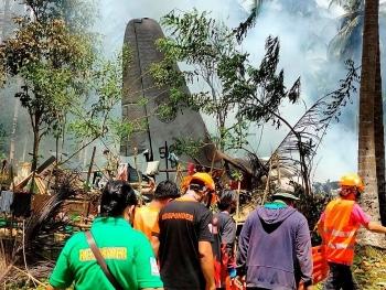 Tìm thấy hộp đen máy bay quân sự rơi gần quần đảo Sulu, Philippines