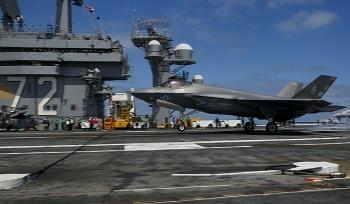 Phi đội F-35C đầu tiên của Thủy quân lục chiến Mỹ đã sẵn sàng chiến đấu