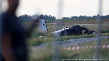 Rơi máy bay chở vận động viên ở Thụy Điển, 9 người thiệt mạng