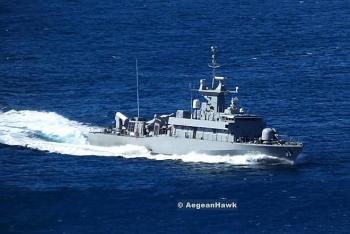 Hạm đội Biển Đen của Nga giám sát tàu tên lửa Hy Lạp ở Biển Đen