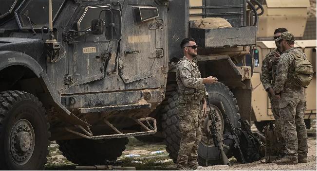 Căn cứ quân sự Mỹ ở miền Đông Syria bị nã pháo