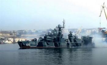 Tàu tên lửa đệm khí cực mạnh chuẩn bị trở lại Hạm đội Biển Đen
