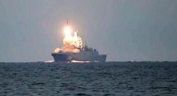 Tên lửa siêu thanh Zircon sẽ diệt tàu sân bay giả định trong lần phóng mới
