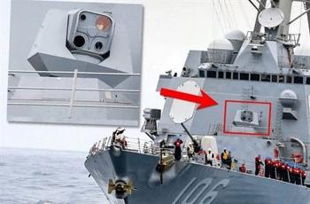 Chiến hạm Mỹ chính thức được trang bị vũ khí laser độc nhất vô nhị