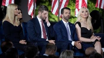 Con cái ông Trump không còn được mật vụ Mỹ bảo vệ