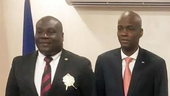 Trưởng bộ phận an ninh của tổng thống Haiti bị bắt