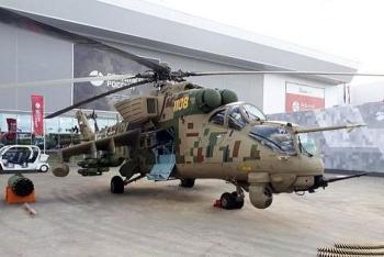 Rostec chính thức giới thiệu trực thăng bọc thép Mi-35P miễn nhiễm với các loại đạn pháo