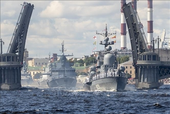Video: Nga bắn hạ tên lửa bờ biển trên tàu Đô đốc Essen
