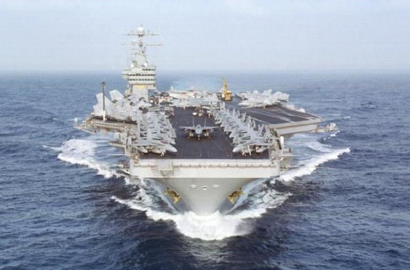 Tàu sân bay Mỹ đang tiến theo hướng về phía Quần đảo Kuril để dằn mặt Nga