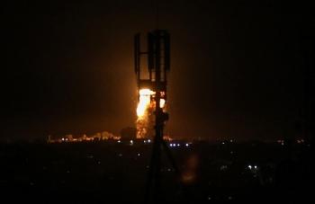 Chiến đấu cơ Israel oanh tạc cứ điểm quân sự ở Syria, quần thảo cả vùng biên giới