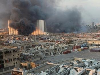 Vụ nổ ở Beirut: 100 người chết, một nhóm lính cứu hỏa đang mất tích