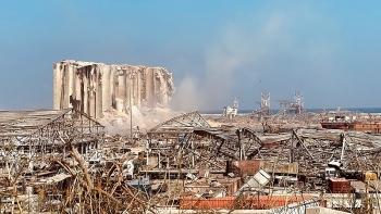 Hình ảnh đối lập trước và sau vụ nổ kinh hoàng ở Lebanon