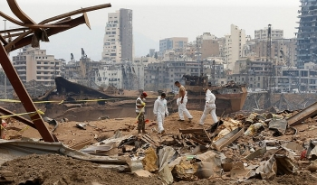 Lebanon bất ngờ từ chối điều tra quốc tế vụ nổ Beirut