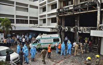 Hỏa hoạn tại cơ sở điều trị COVID-19 ở Ấn Độ, ít nhất 7 người thiệt mạng