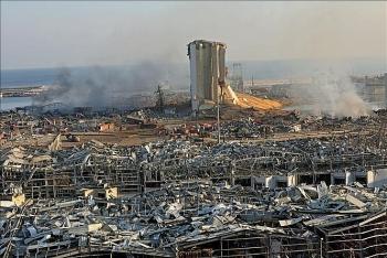 Nhiều chính khách của Lebanon từ chức sau vụ nổ tàn phá một nửa thủ đô Beirut