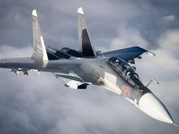 """Tiêm kích Su-30SM Nga như """"hổ thêm cánh"""" với tên lửa diệt hạm siêu thanh"""