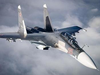 Tiêm kích Su-30SM Nga như
