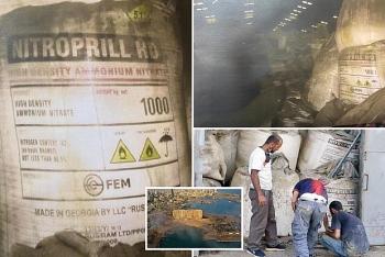 """Quân đội Lebanon phát hiện """"kho chất nổ"""" khổng lồ thứ 2 tại cảng Beirut"""