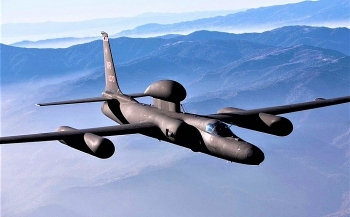 """Máy bay do thám U-2 của Mỹ """"lạc"""" vào không phận Trung Quốc đang tập trận"""